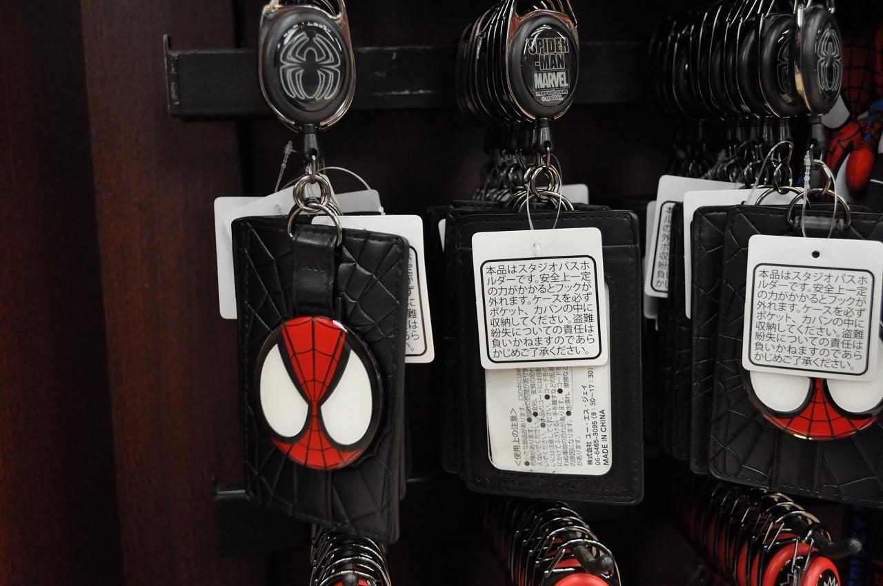 スパイダーマン黒パスケース