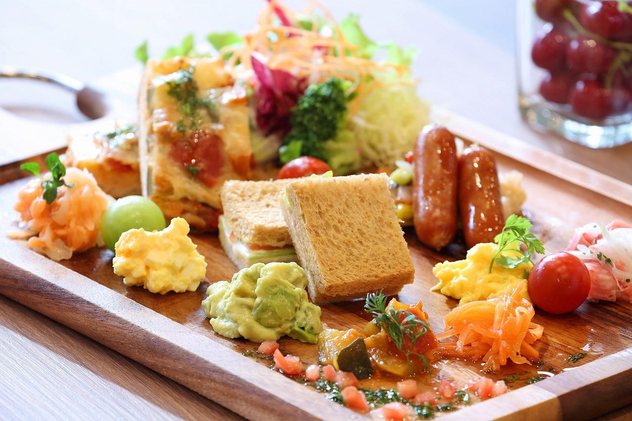 HOTEL舞浜ユーラシアANNEXの朝食メニュー一例