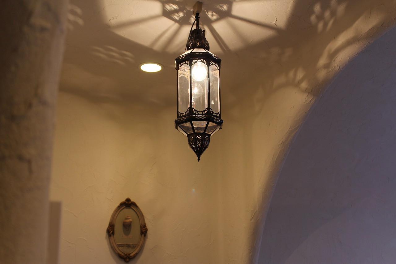 コンセプトルームの照明