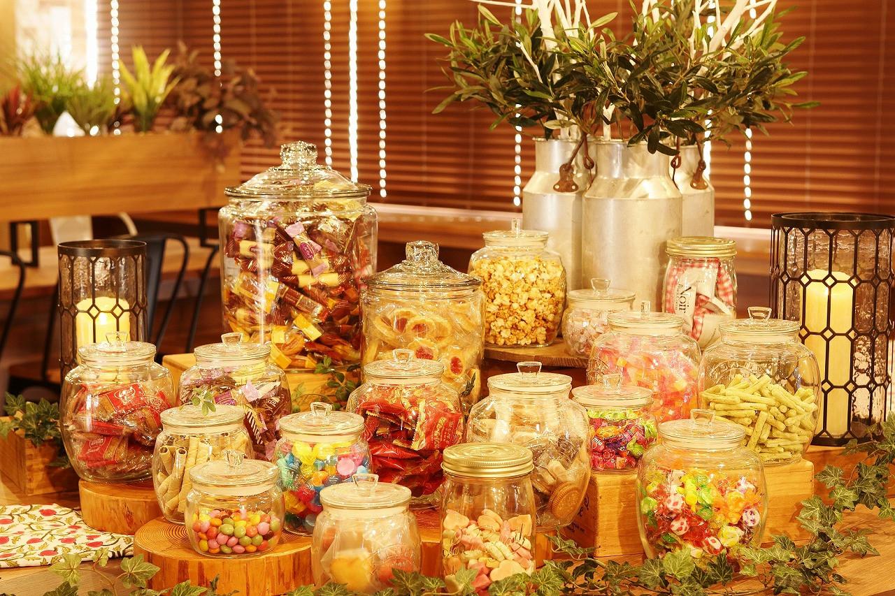 ナイトマルシェのお菓子一例