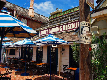 【USJ】アミティ・ランディング・レストランを紹介!営業時間や場所、おすすめメニューまとめ