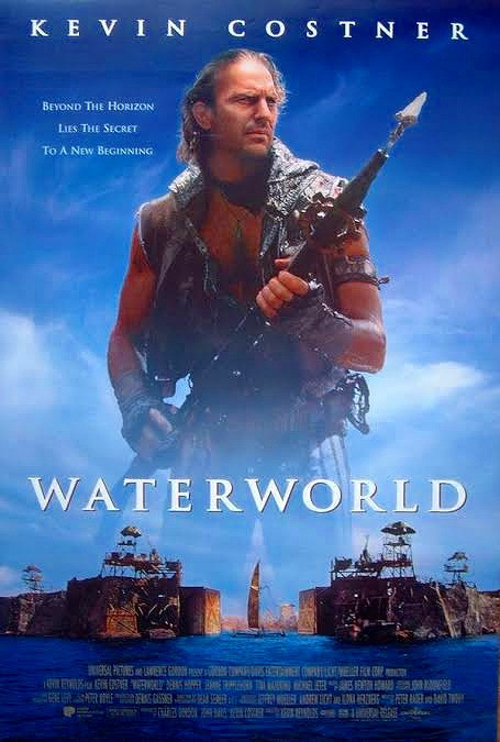 映画『ウォーターワールド』ポスター