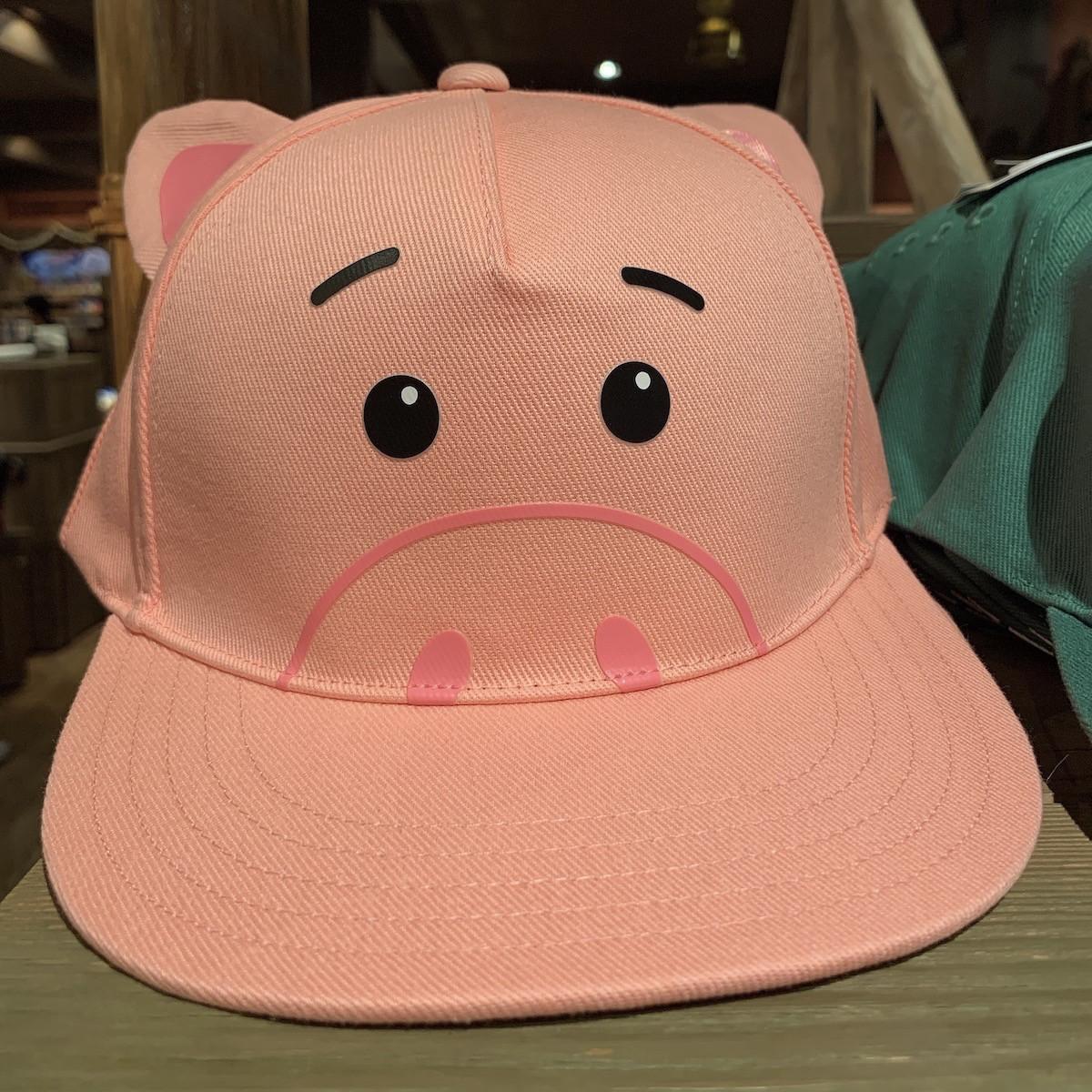 ハムの帽子