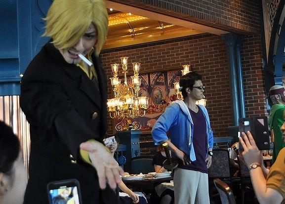 サンジの海賊レストラン2019/サンジとジョニー