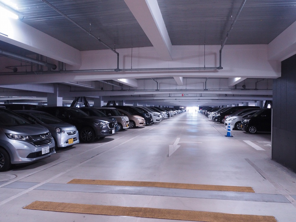おすすめの駐車エリア