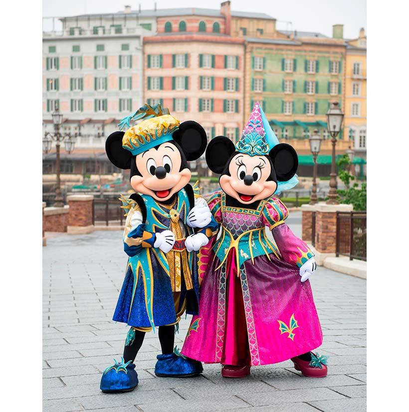 フェスティバル・オブ・ミスティークのミッキー&ミニー