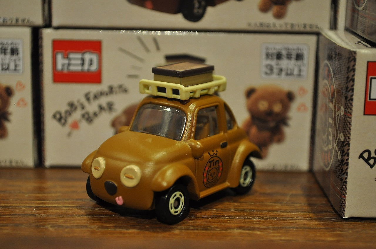 BOB's FAVORITE BEARシリーズのティム「トミカ」