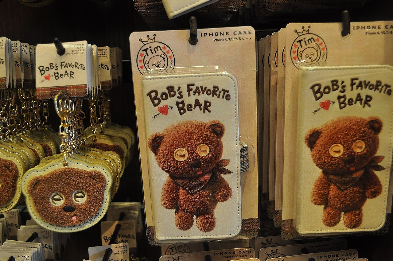 BOB's FAVORITE BEARシリーズのiPhoneケース