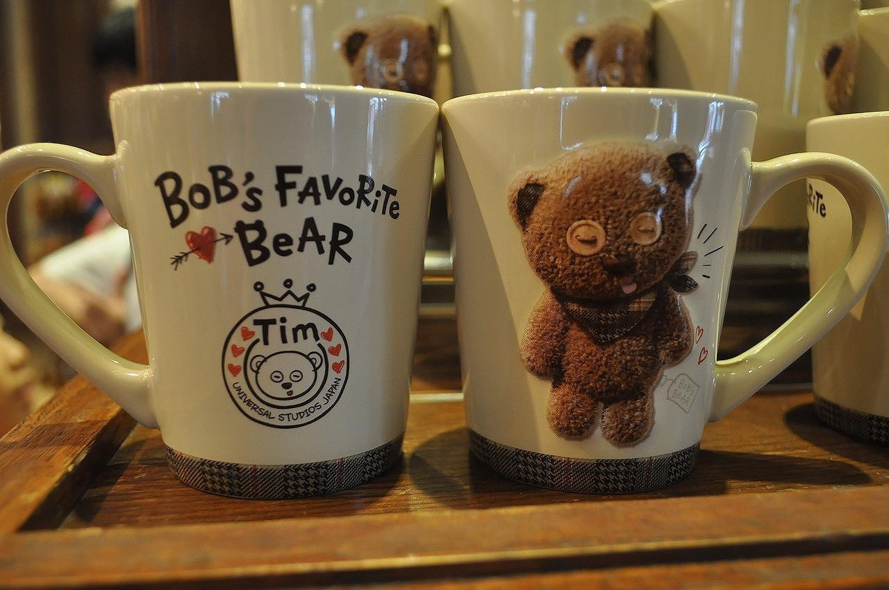 BOB's FAVORITE BEARシリーズのティムマグカップ