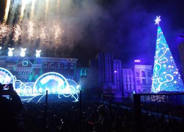 【2019】ユニバの新クリスマスショー「クリスタルの約束」を解説!期間、場所、見どころ、混雑は?