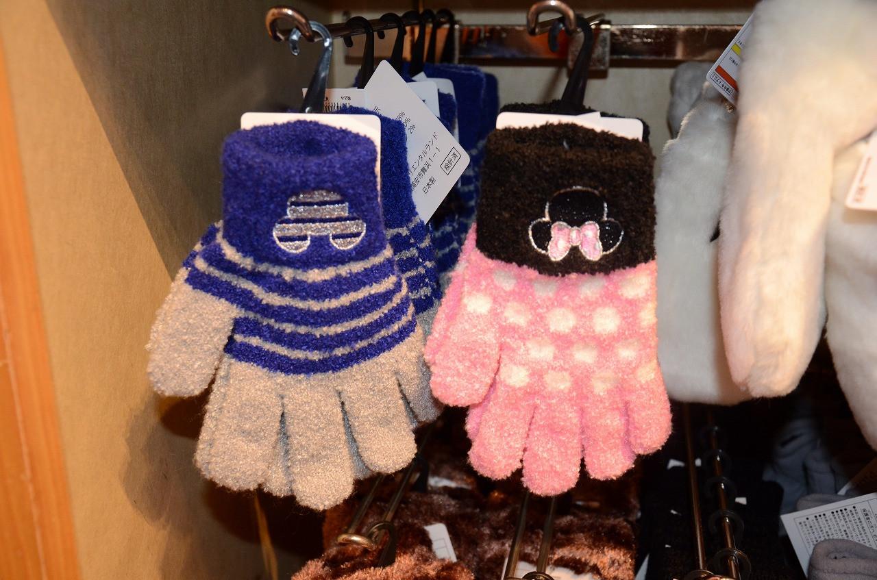 キッズ用のミッキー手袋