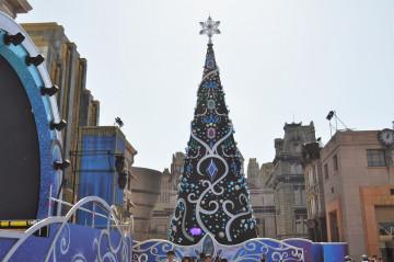 【2019】ユニバのクリスマスツリーを解説!昨年までとの違いは?場所、高さ、見どころ、フォトスポット
