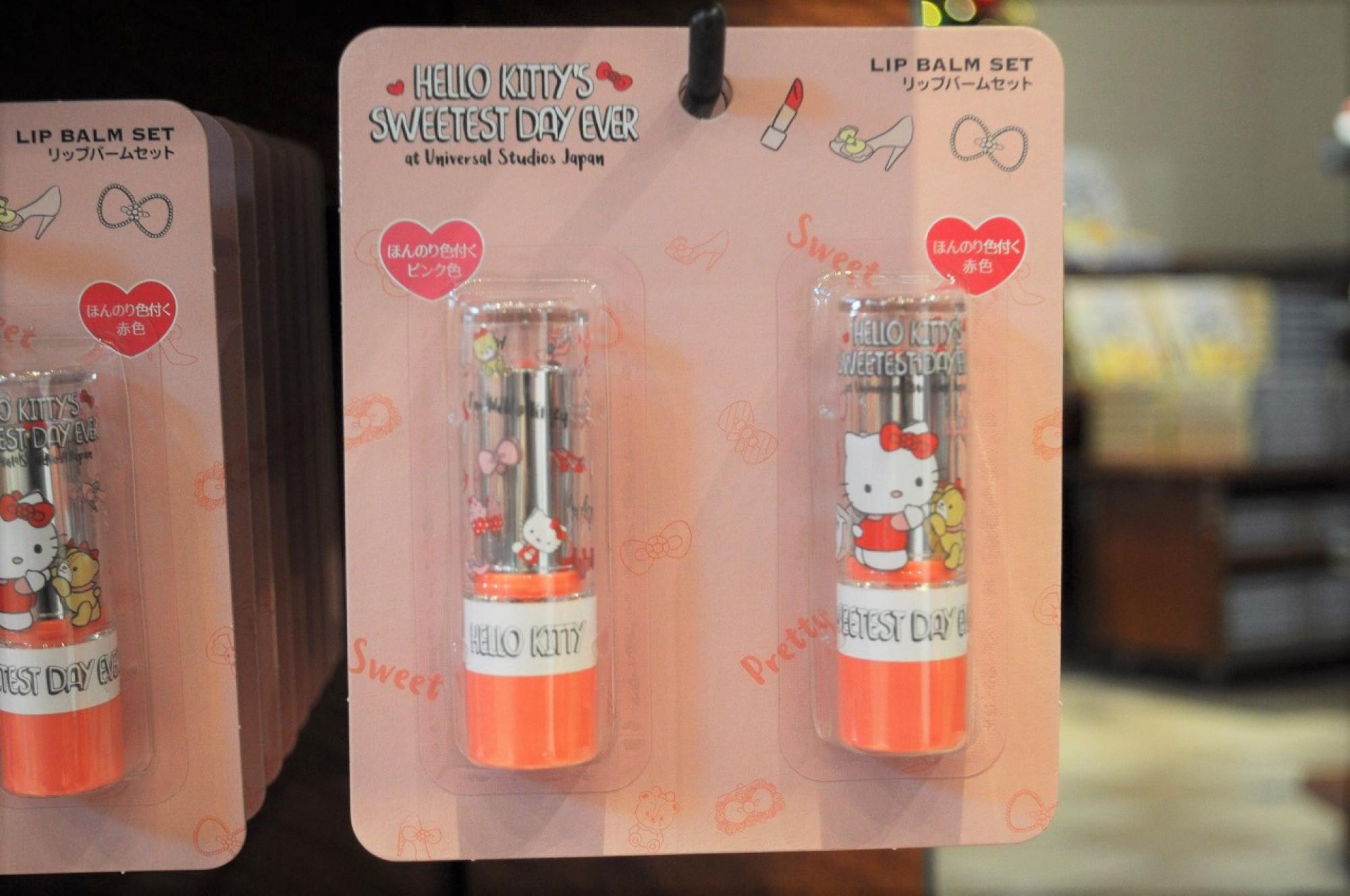 ハローキティ「Hello Kitty's Sweetest Day Ever」リップパームセット