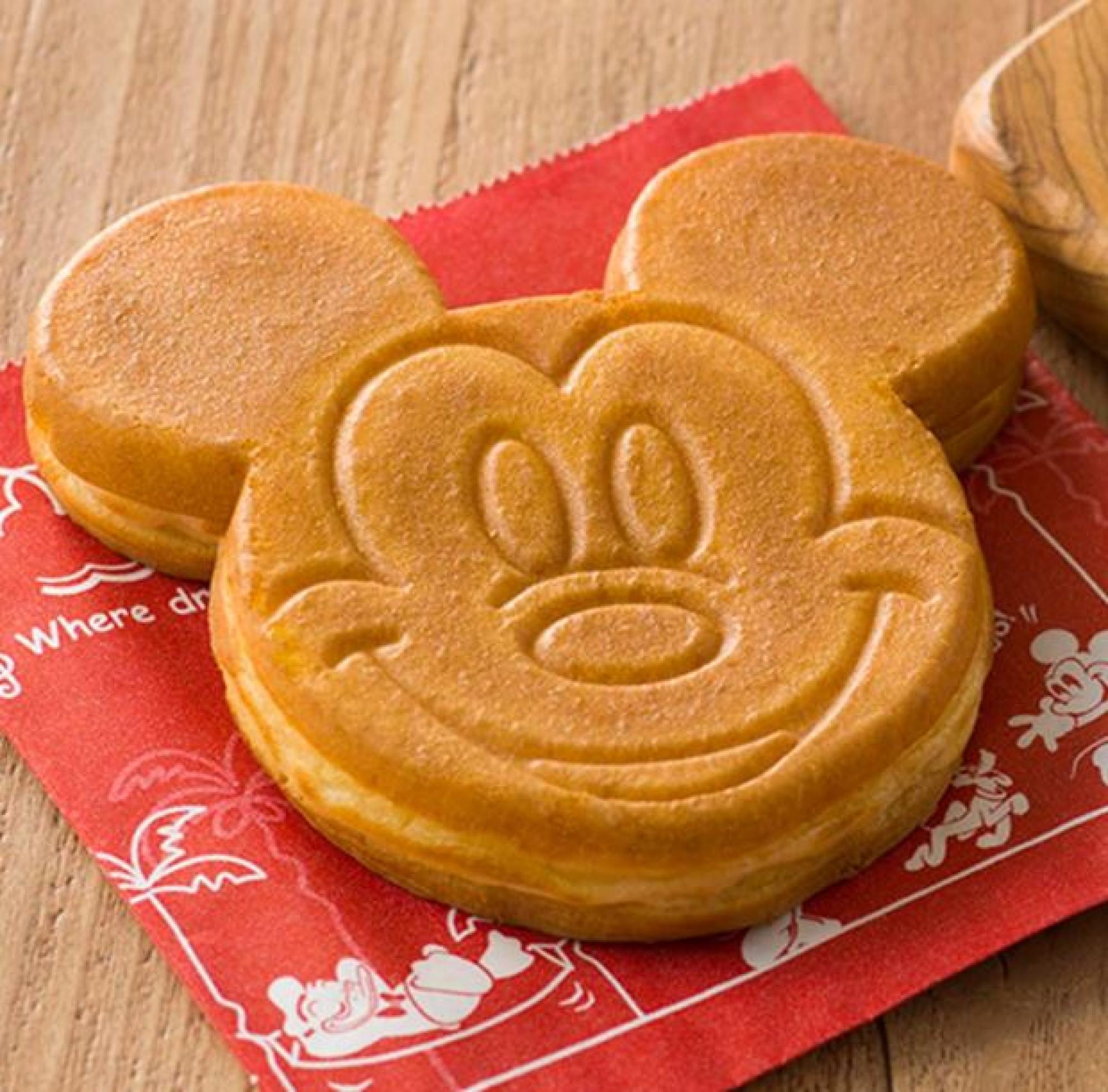 ミッキーカステラケーキ(キャラメルクリーム味)
