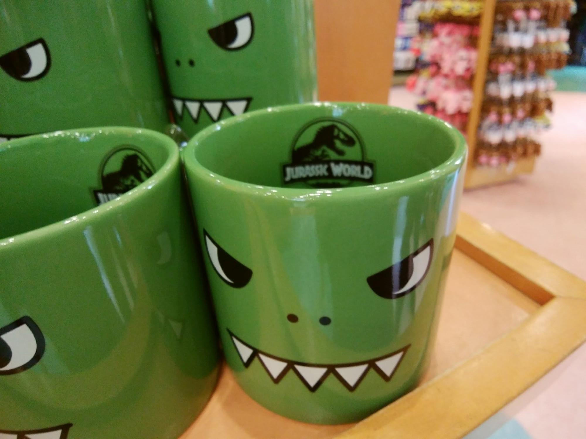 コミック調ジュラシックパークマグカップ