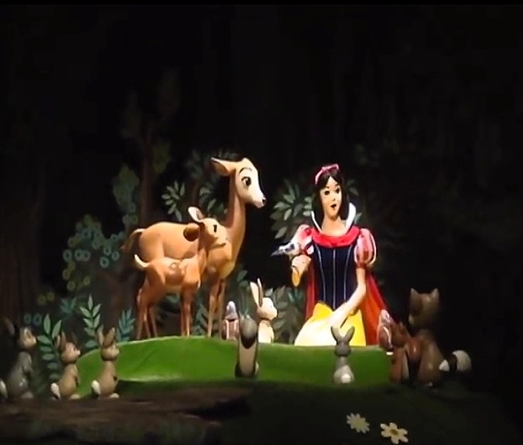 ミッキーマウス・レビューの白雪姫