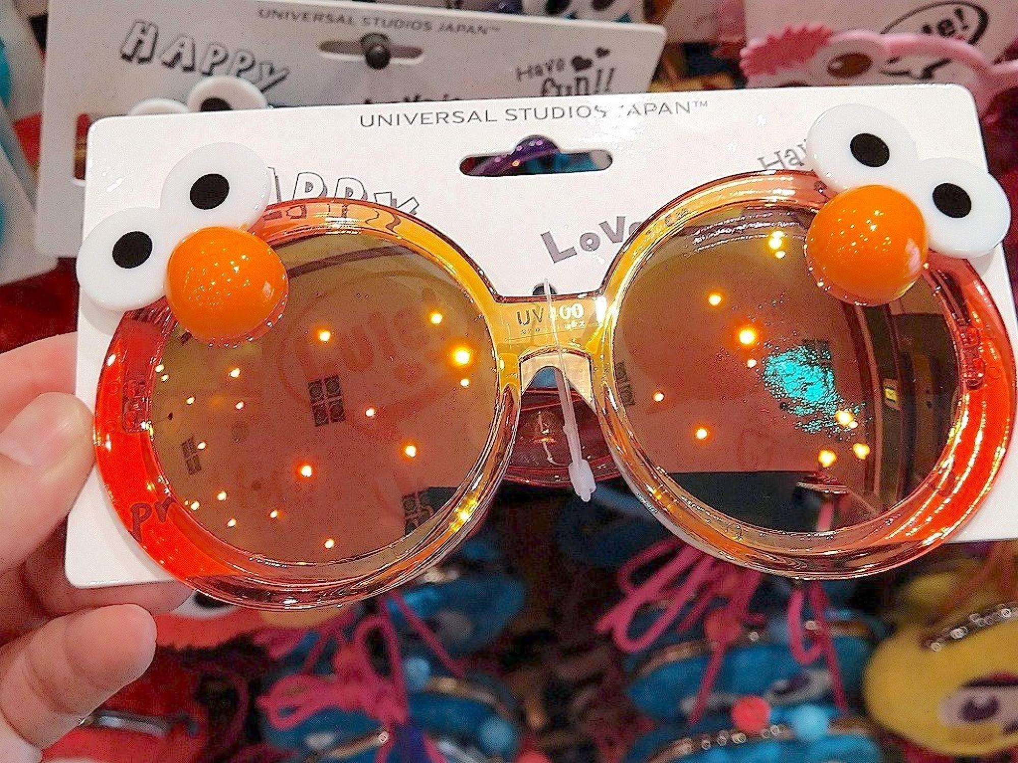 エルモのミラーサングラス