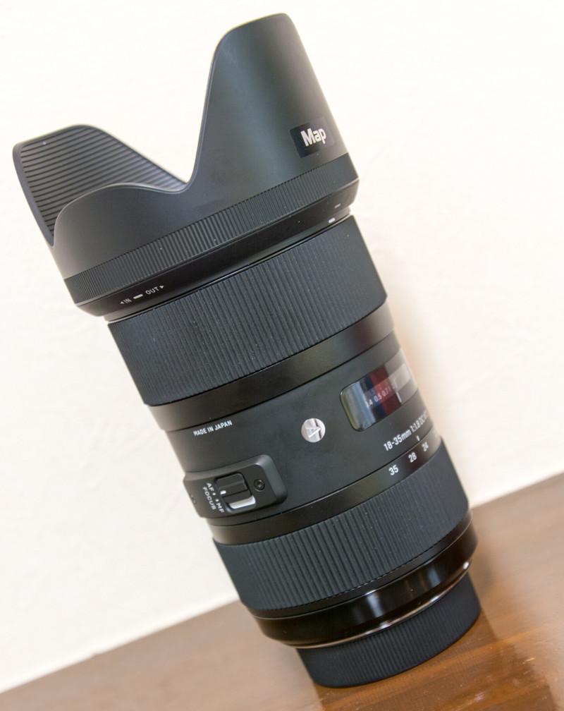 SIGMA 18-35mm F1.8 DC HSM ニコンマウント