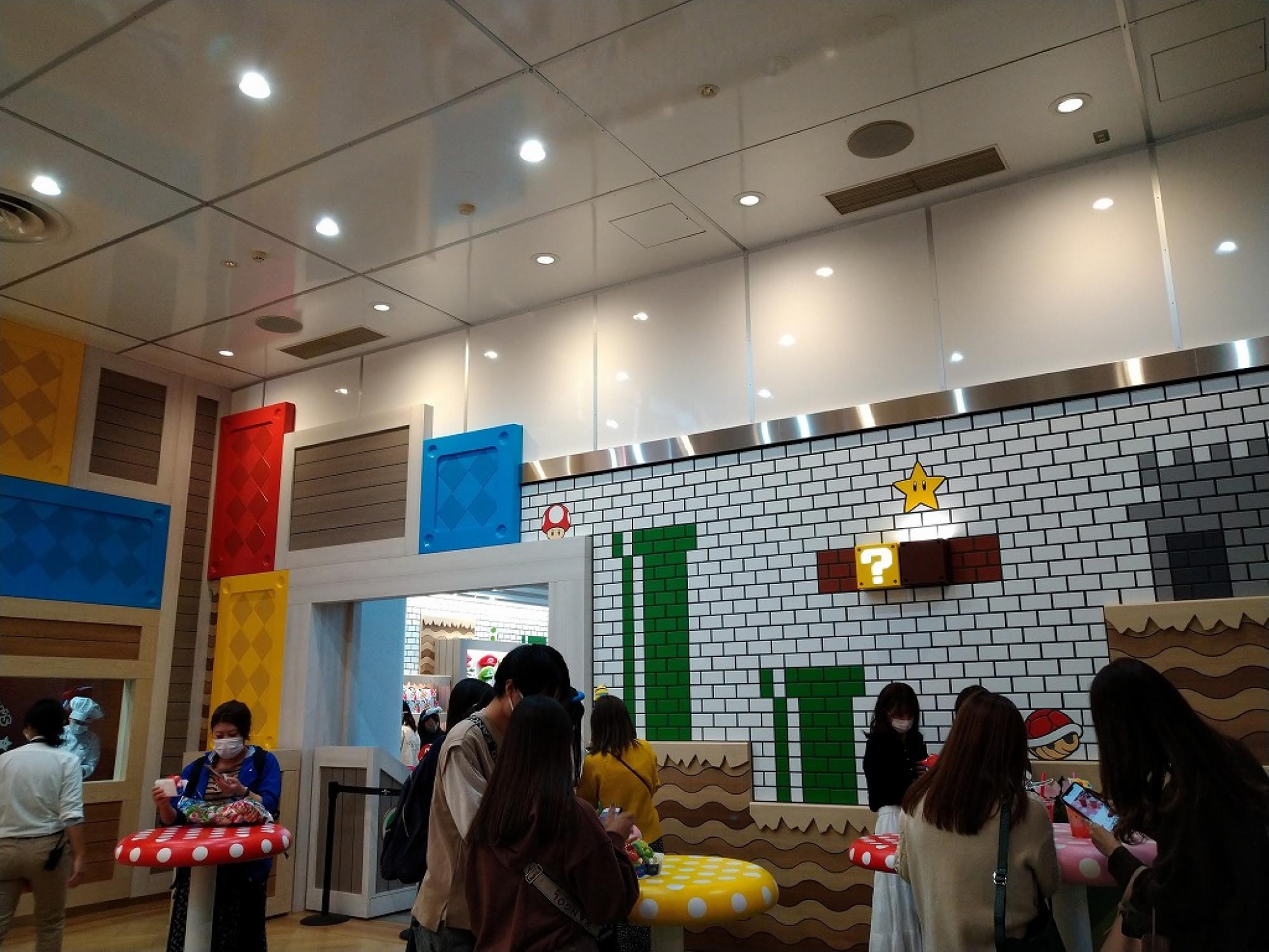 マリオカフェの写真スポット