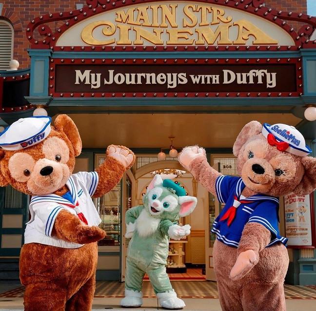 ダッフィー専門店の「My journeys with Duffy」