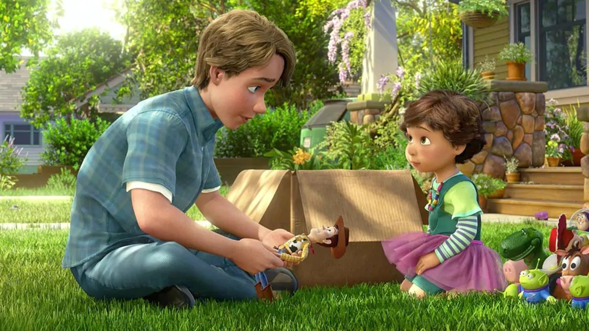 The thing that makes Woody special, is he'll never give up on you… ever. He'll be there for you, no matter what.