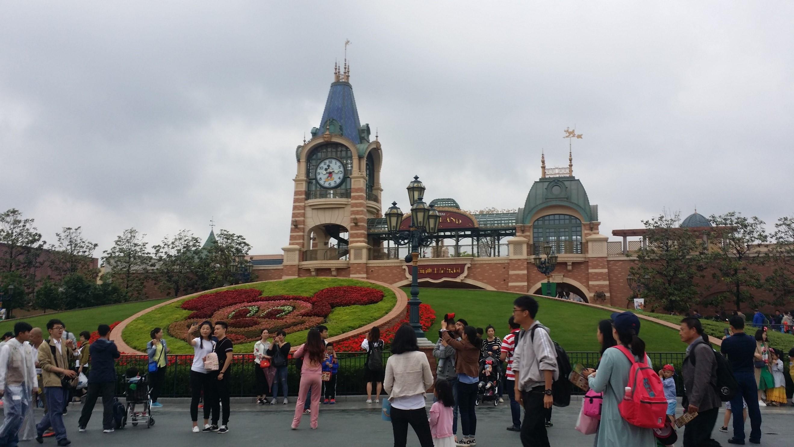 上海ディズニーランドに行こう!