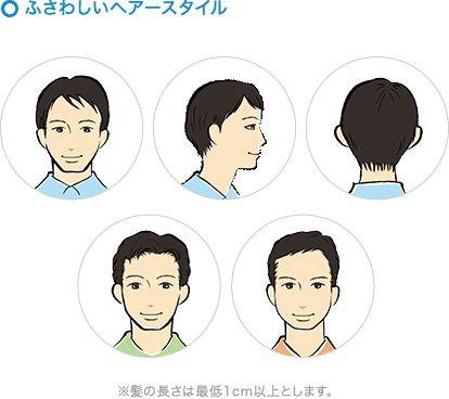 男性キャストのヘアスタイル