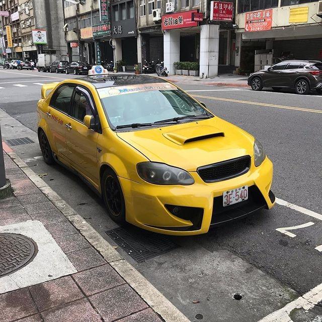 台北のタクシー