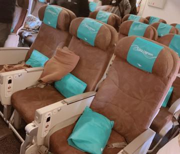 【搭乗レポ】ガルーダインドネシア航空でバリ島へ!エコノミークラスの機内食・映画・アメニティーを紹介